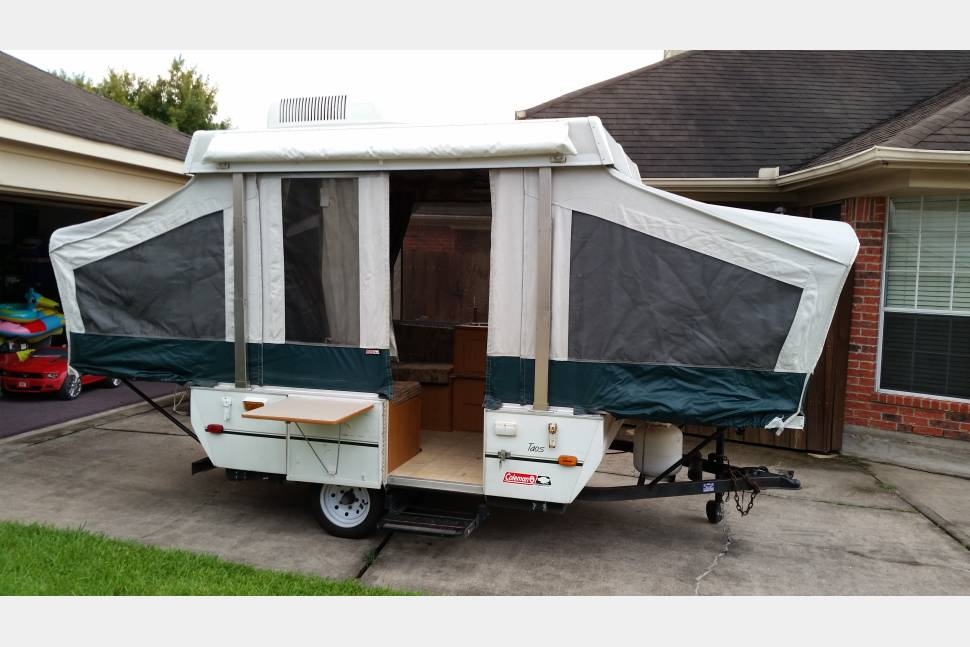 2003 Coleman / Yuma Pop-Up Camper - Peggy the Pop-Up! She's a great way to provide some extra comfort on your outdoors adventures!