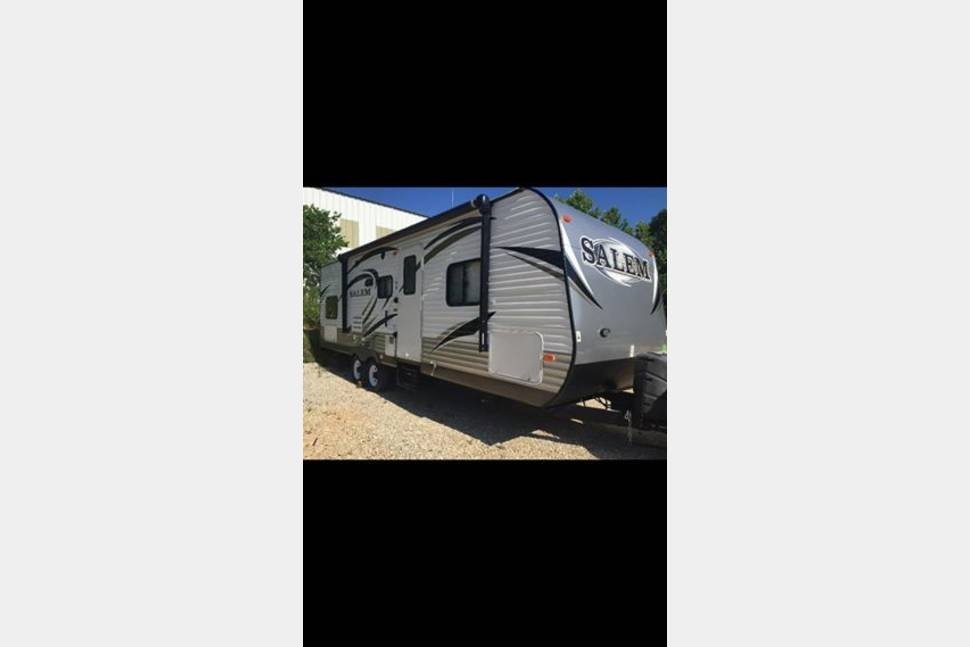 2014 Salem Travel Trailer 27DBUD - Our Happy Place!