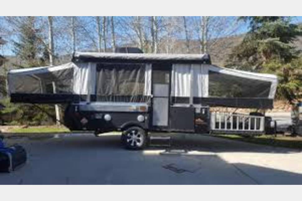 2016 Sommerset Evolution E3 - Sommerset E3 Popup Camper with 55x85 Cargo/4 wheeler Deck
