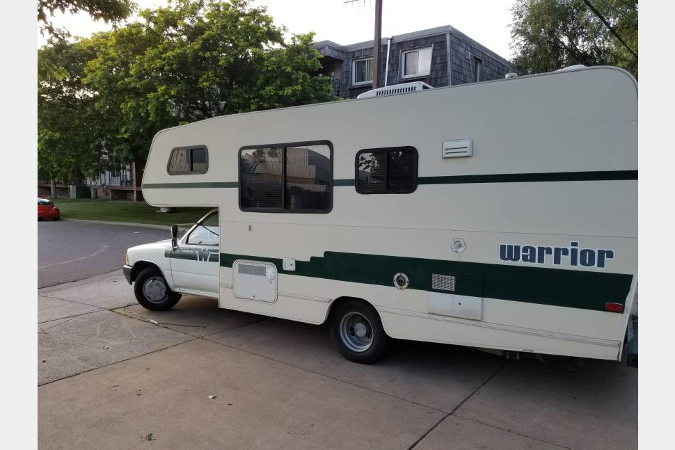 1992 Toyota Winnebago - Our Toy Winnie