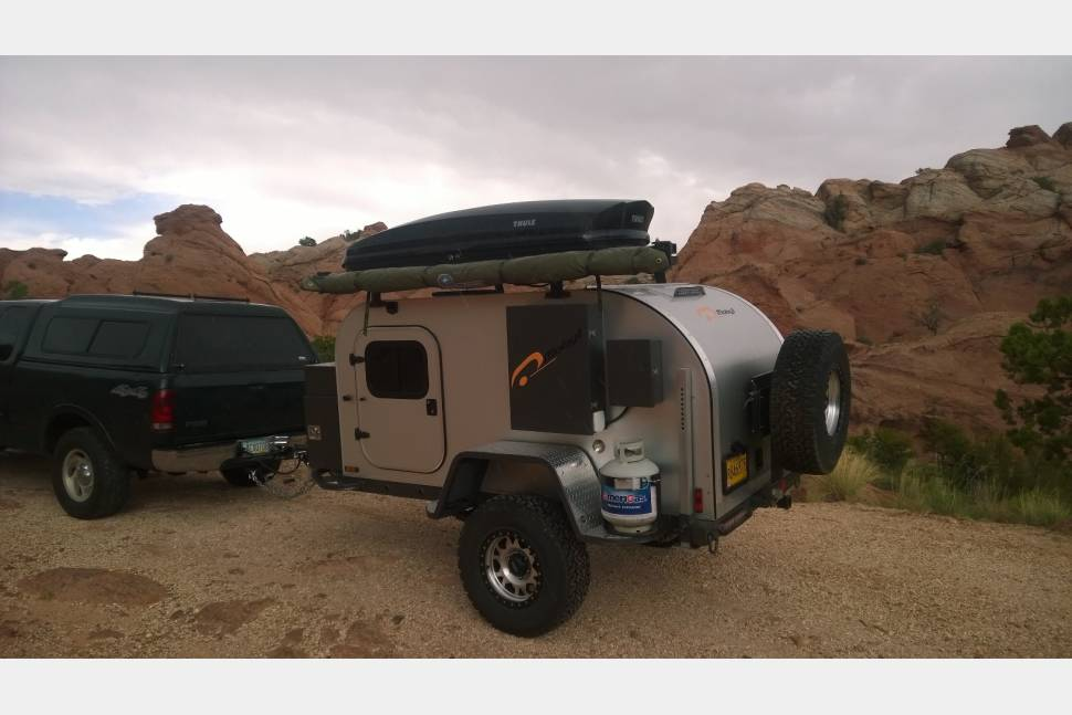 2014 Moby 1 XTR Offroad Teardrop Trailer - Moby 1 XTR offroad camping trailer