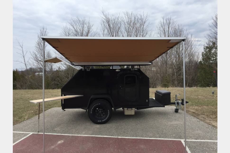 95 Teardrop Trailer Awning 55 Shade Canopies Joes And