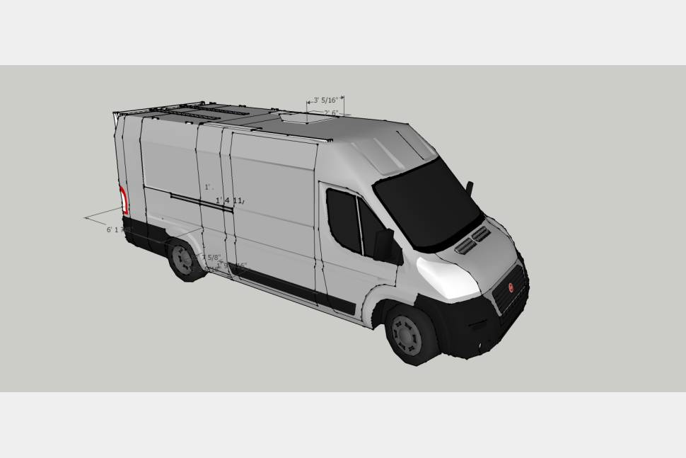 2017 SUMPVEE V4.17 Ram Promaster 3500 Ext Camper Van - S.U.M.P.Vee v4.17 euro camping experience
