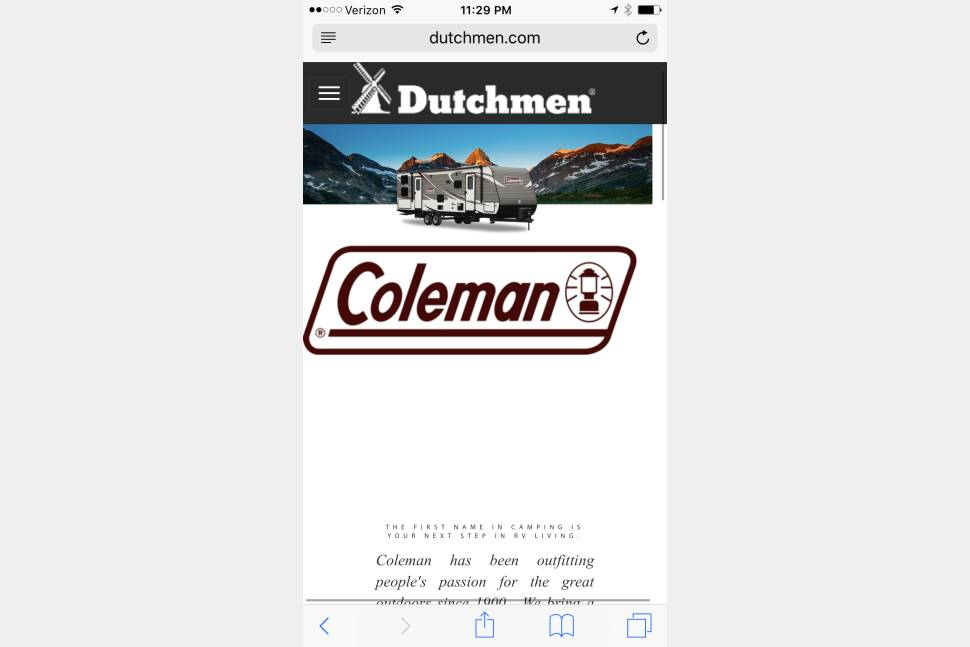 2015 Coleman/Dutchman 281BH - Like New 2015 28' Bunk House Coleman - Coleman IS Camping!