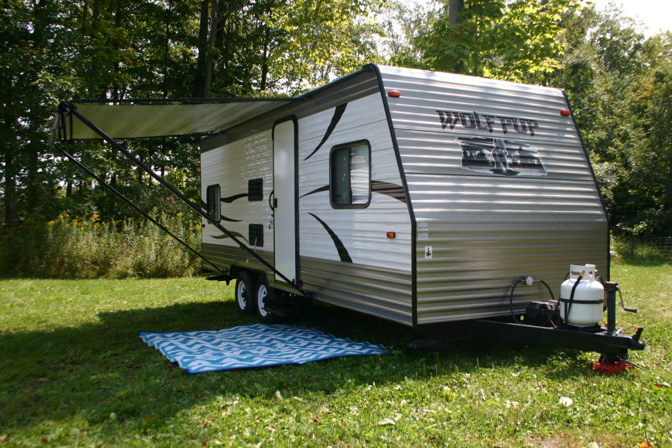 2014 Forest River Wolf Pup 22BP - Easy Hauler PLUS