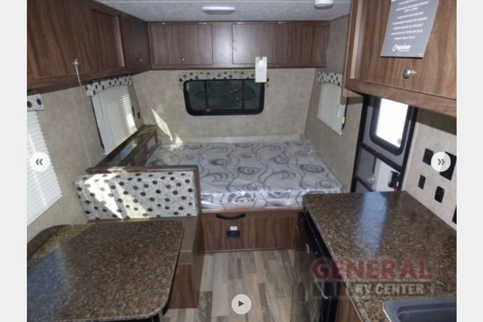 2018 Coachmen Clipper Cadet 17CBH - The Isabelle! Easy To Tow! - The Isabelle! Brand New Family Friendly Vacation Travel Trailer! - Tows easy!