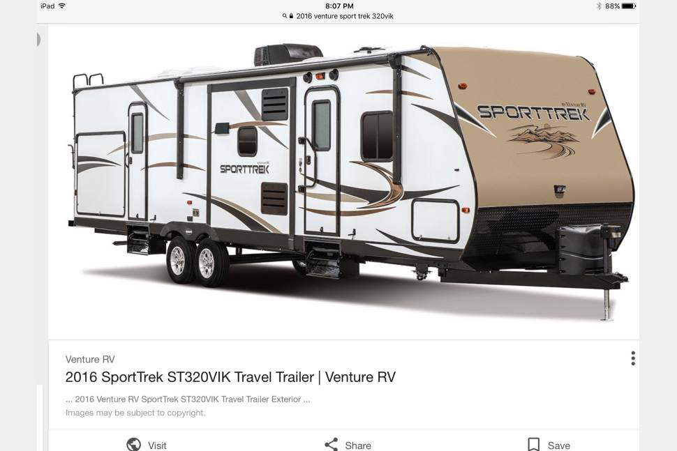 2016 Venture Sporttrek - Home on wheels