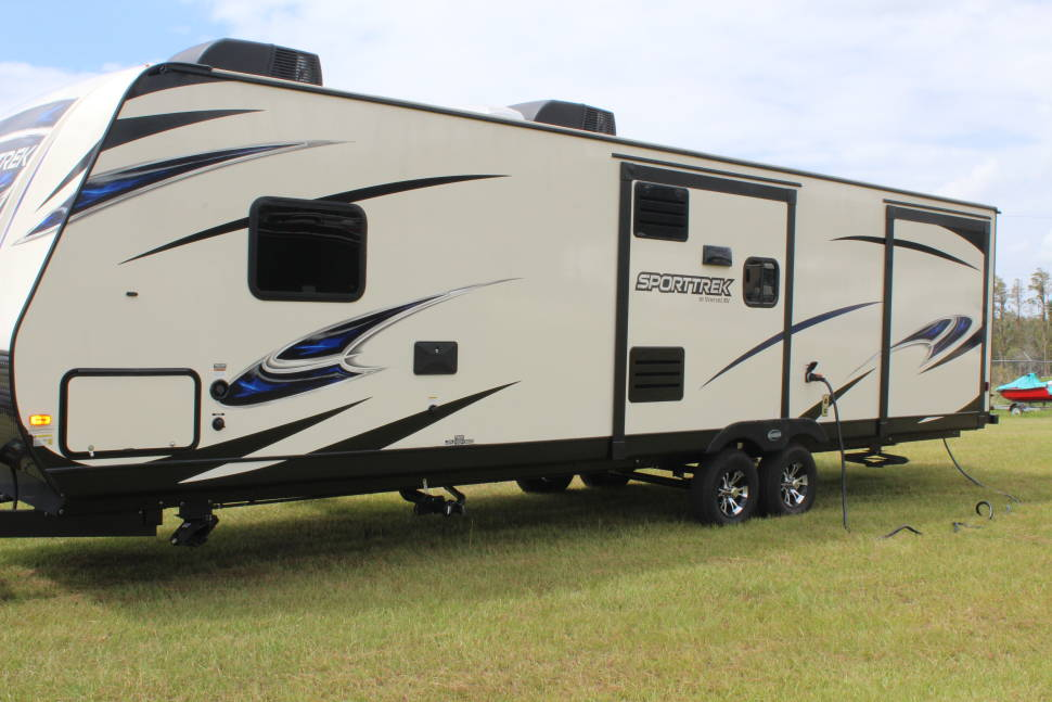 2018 Venture Sporttrek 327VIK - The ultimate camping travel trailer for the whole family.