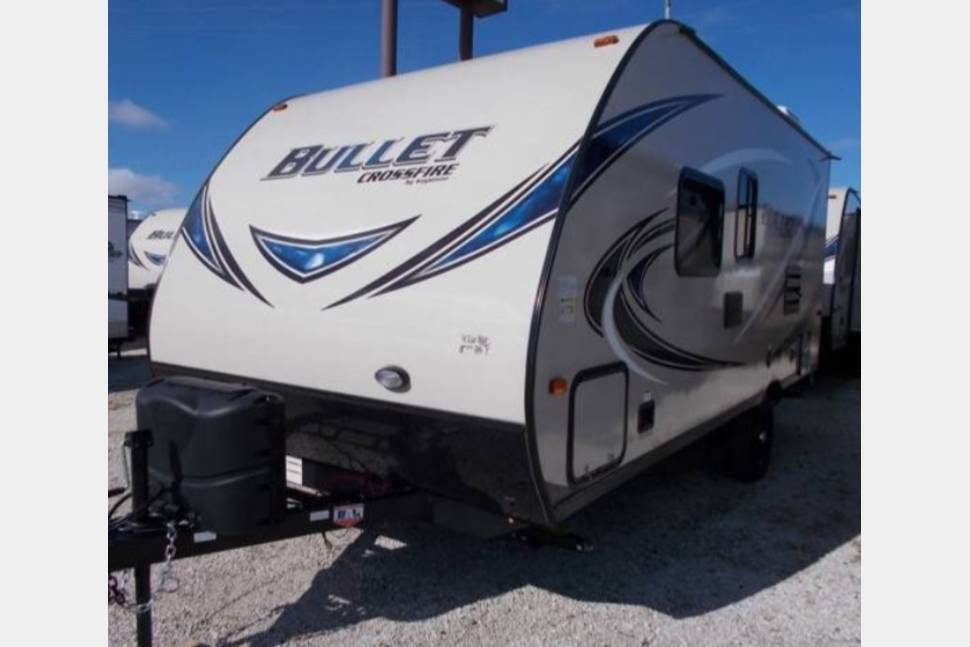 2017 Keystone Bullet Crossfire 1800RB - Everything You Need for an Awesome Trip!