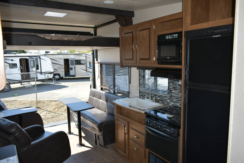 2018 Forest River Salem - American RV rentals inc. YOUR ONE STOP SHOP! FOR ALL YOUR TOY HAULER VACATION NEEDS!