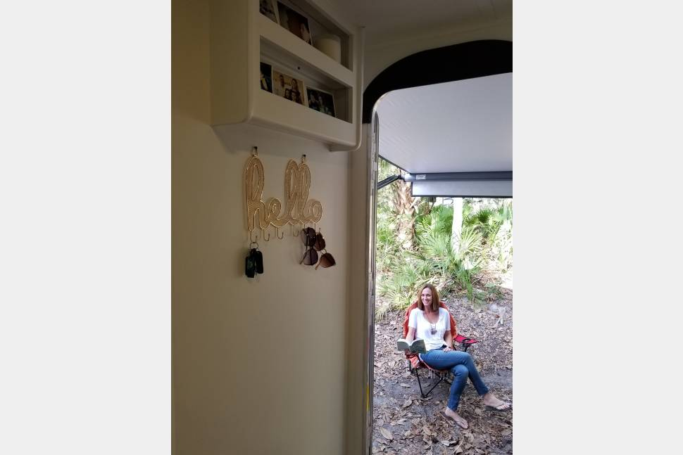 2018 The Hipster Hideaway By Sassy Campers-Forest River Avenger - The Hipster Hideaway by Sassy Campers