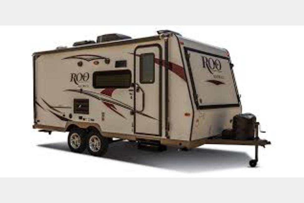 2017 Rockwood Roo Roo - Clean and Comfortable!