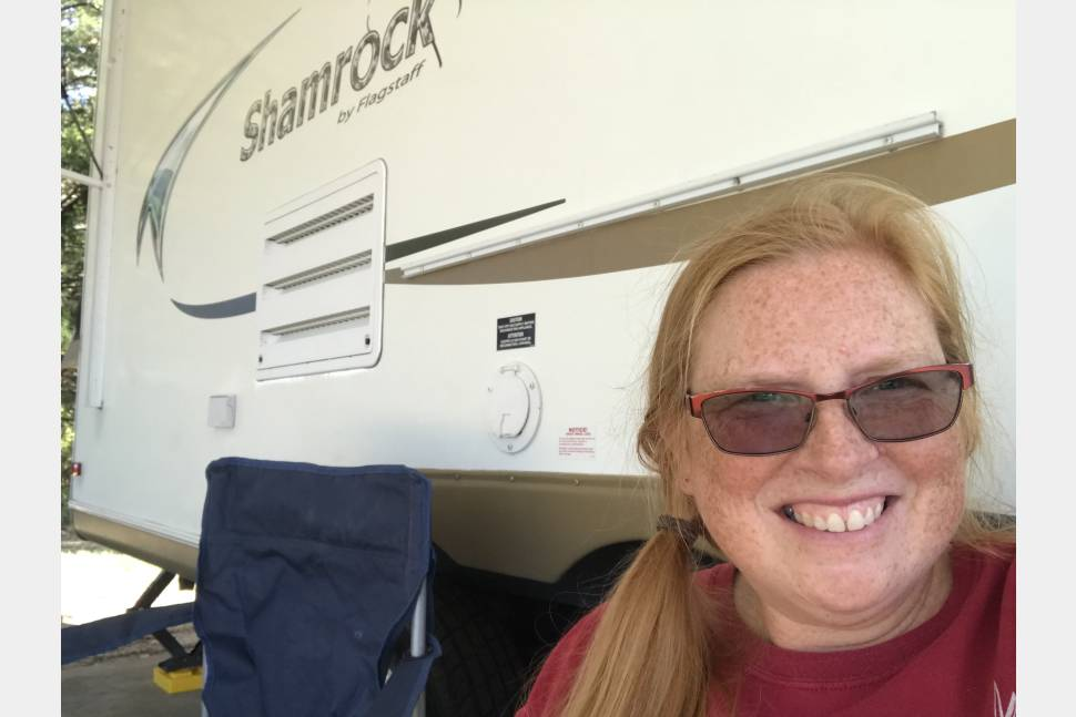 2012 Shamrock Flagstaff - Love the convenience of a camper, but love tent camping? Shamrock is perfect!