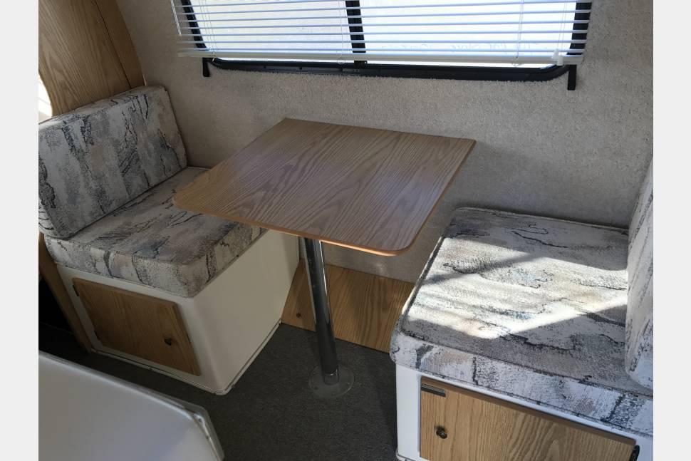 2001 Casita Spirit Deluxe 17 - Look it's One if those fiberglass trailers