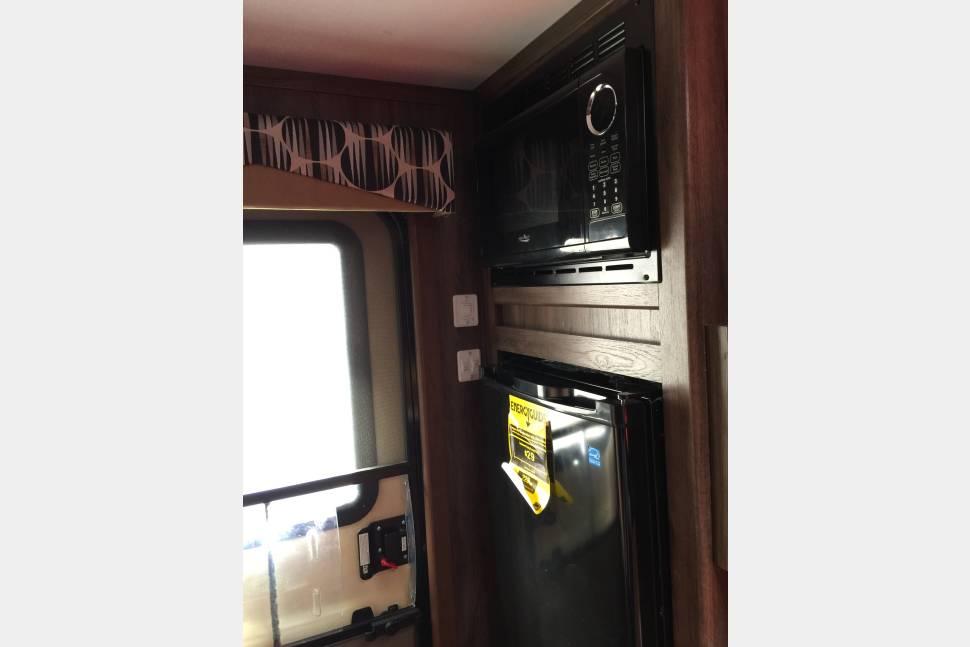 2017 Happy Trails Cozy Cabin - Happy Trails Cozy Cabin mini camper trailer