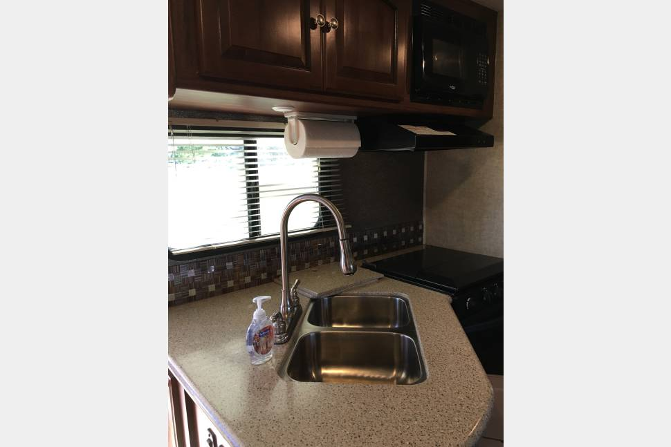 2015 Heartland North Trail 24BHS Bunkhouse - Happy Camper II—Stocked Bunkhouse w/ Outdoor Kitchen