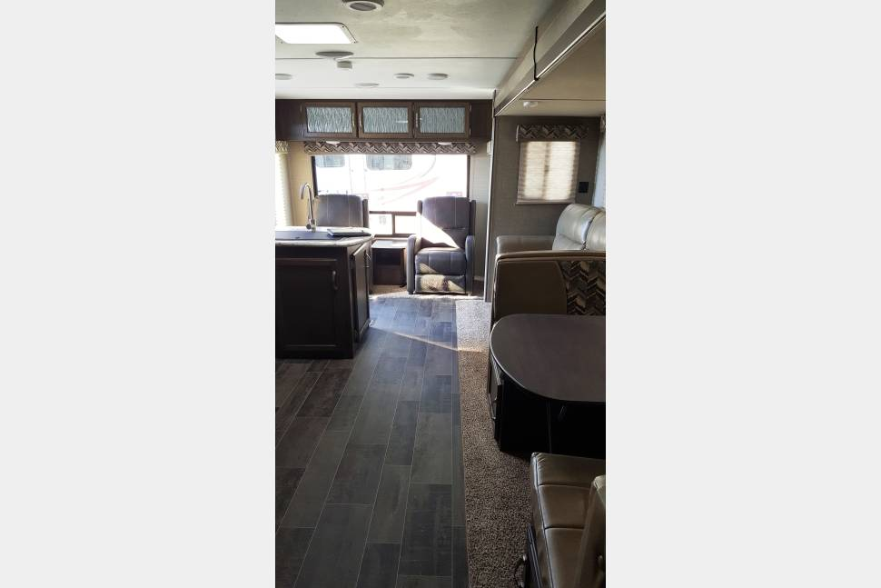 2018 269 RLS Keystone Bullet - 2018 Rear Living Travel Trailer with lots of space.