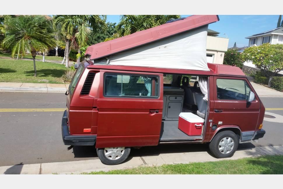 1989 VW Vanagon Westfalia - Maui Camper