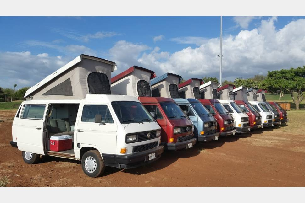 1988 Volkswagen Westfalia Vanagon - Great camper to enjoy Paradise. Come and explore the magic of Maui