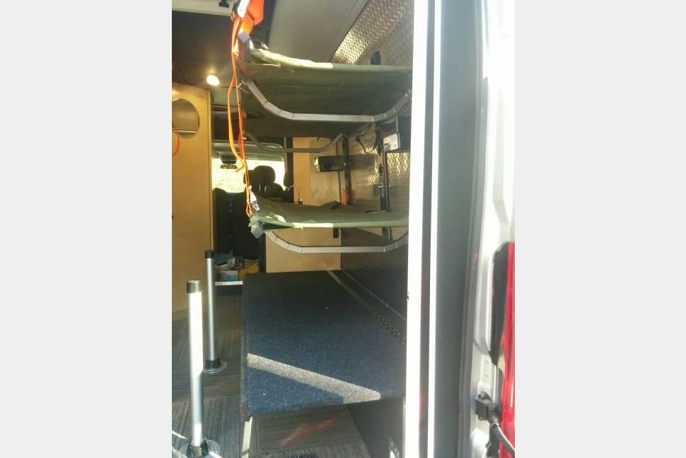 2018 SUMPVEE V4 Ram Promaster 3500 Ext Camper Van - S.U.M.P.Vee v4 euro camping experience
