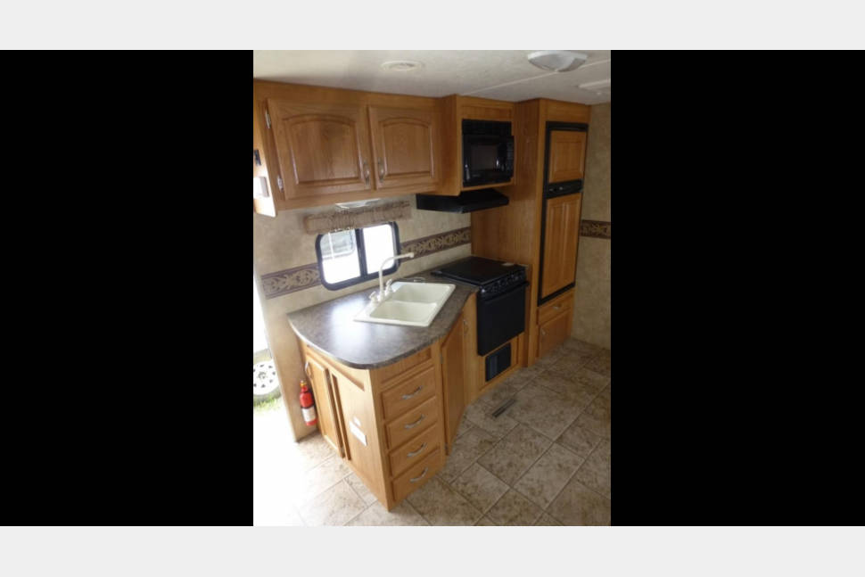 2010 Jayco 304 Bunk House - My little tag along - We are NASCAR and Festival friendly!