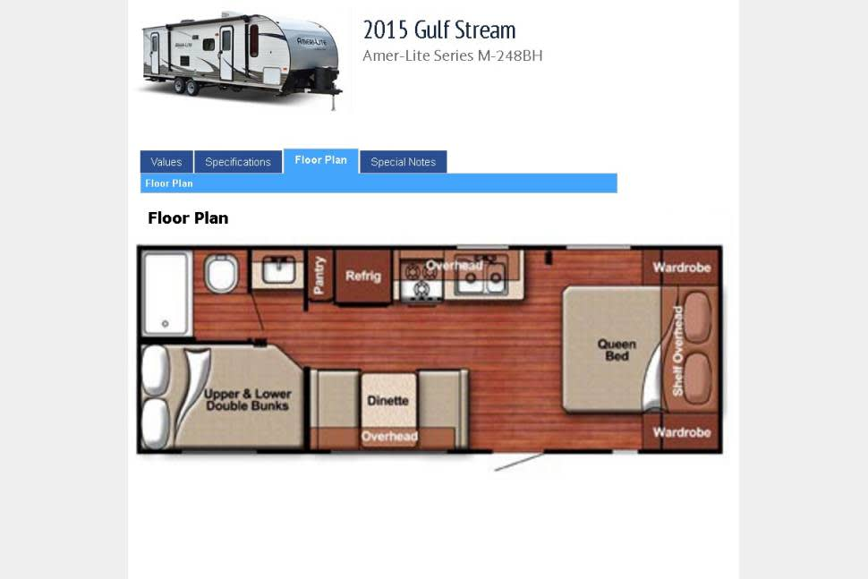 2015 Gulfstream Ultralite 248BH (Bunk House) - Our Northern Maryland Vacation / Beach Home (ultralight, ultra clean)