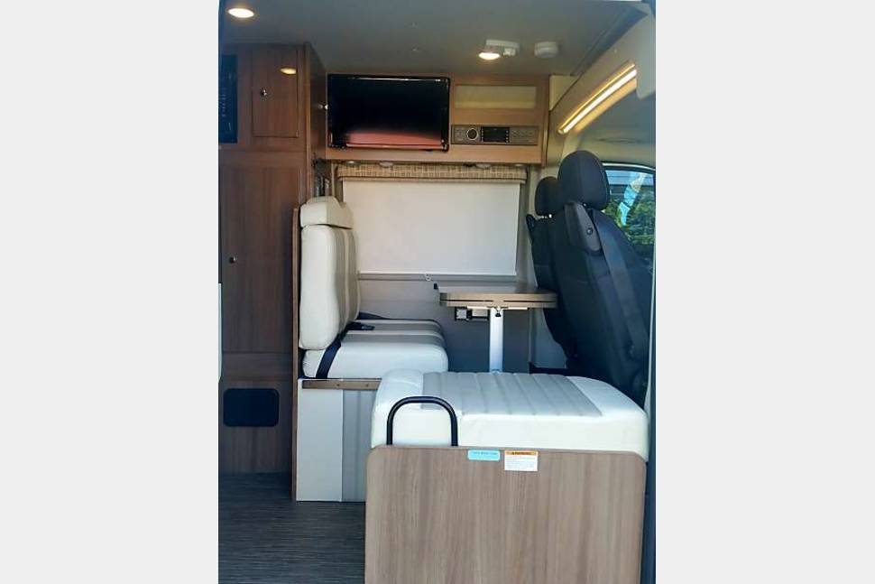 2018 Winniebago Travato - Everything is included just bring your clothes!!! Great family traveling van. Sleeps 4!!! Park in a regular spot!!!