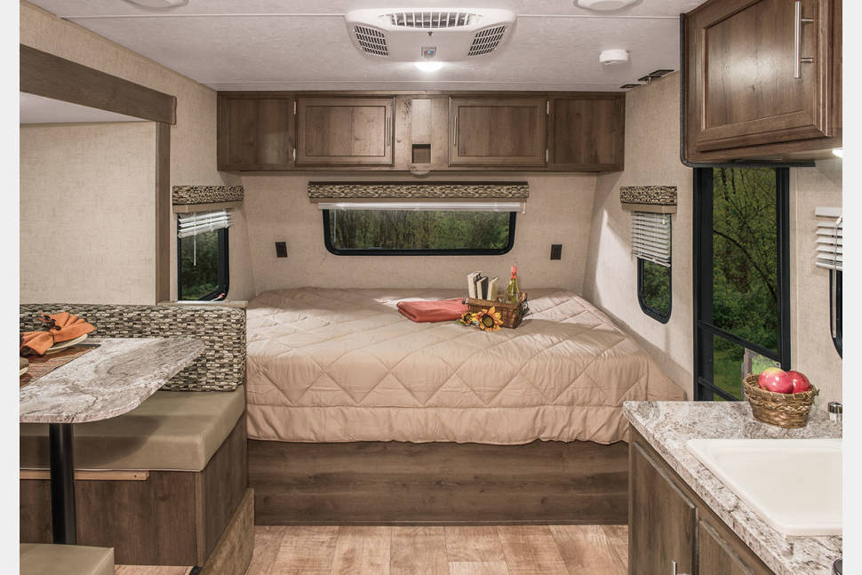 2015 KZ Spree (3600 Lbs) - Rollin Rentals Glamping Camping Home away from Home