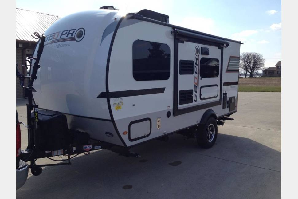 2018 Geo Pro By Forest River G16BH #ABQRV - #ABQRV 2018 New Mexico Geo Pro G16BH Travel Trailer 505 RV Rentals