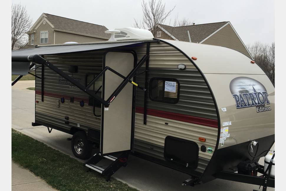 2018 Forest River Patriot 16BHS - Campers delight
