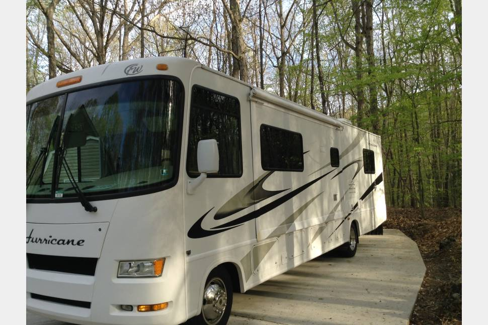 2008 Hurricane 4 Winds - LETS MAKE MEMORIES ON THE ROAD.08 Hurricane 4 winds
