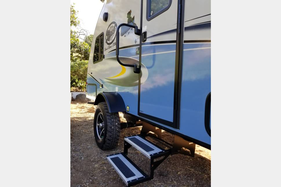 2018 Forest River RPOD 178 - 2018 Forest River R-Pod (RPOD) Easy to tow!