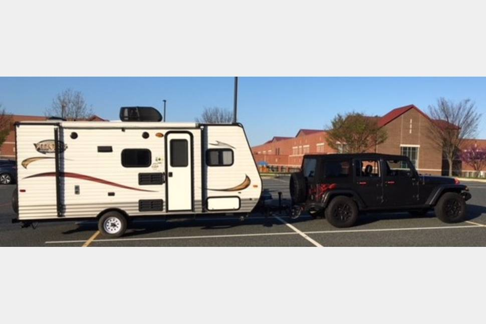 2014 Viking M-17BH (Bunk House) - Northern Maryland Jeep-friendly Camper
