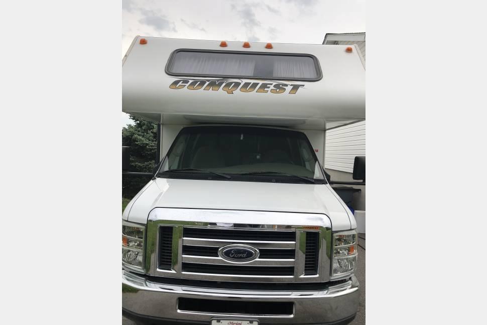 2008 23' MINI RV! Gulf Stream Conquest 6237 - EASY TO DRIVE! Gulf Stream Conquest Yellowstone Series M-6237