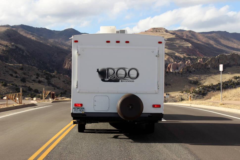2014 Rockwood Roo - Rockwood Roo Hybrid Trailer