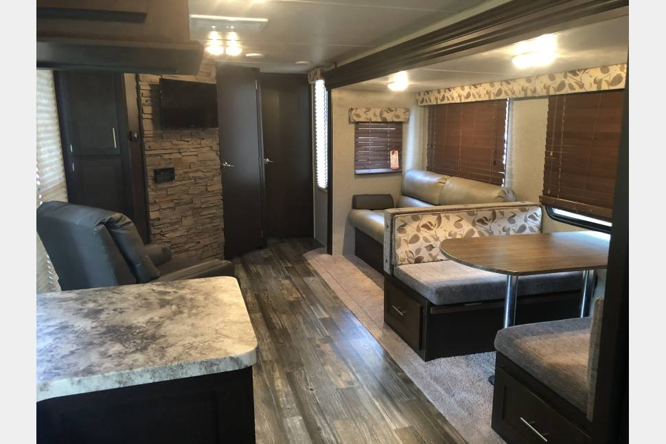 2016 Forest River Cherokee 274VFK - Front roomy Kitchen w/a modern design!