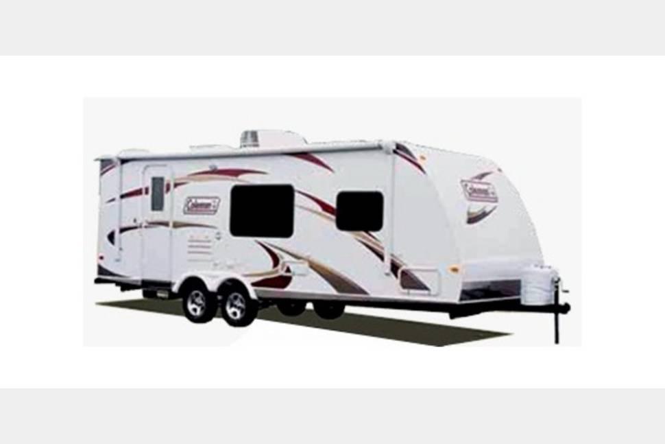 2003 Coleman Caravan - Check out this 2003 Coleman Caravan travel trailer for rent!