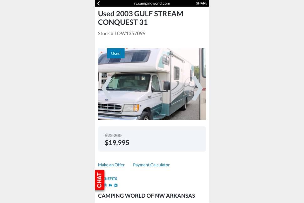 2003 Gulf Stream Conquest - 2003 Gulf Stream Conquest