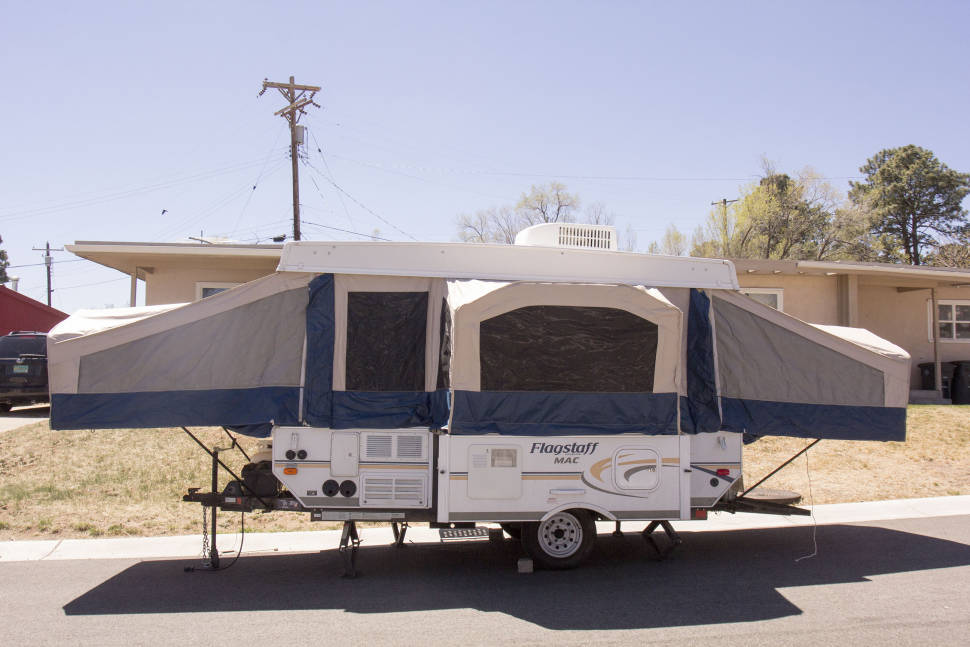 2012 Flagstaff/Forest River MAC/LTD 228D - Pop-Up in the Southwest