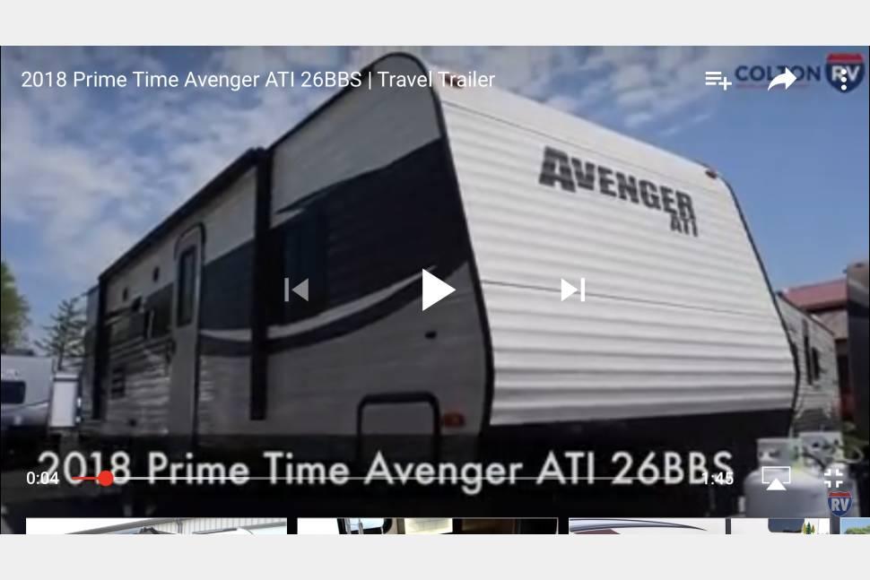 2018 Forest River Avenger - 2018 Forest River Avenger