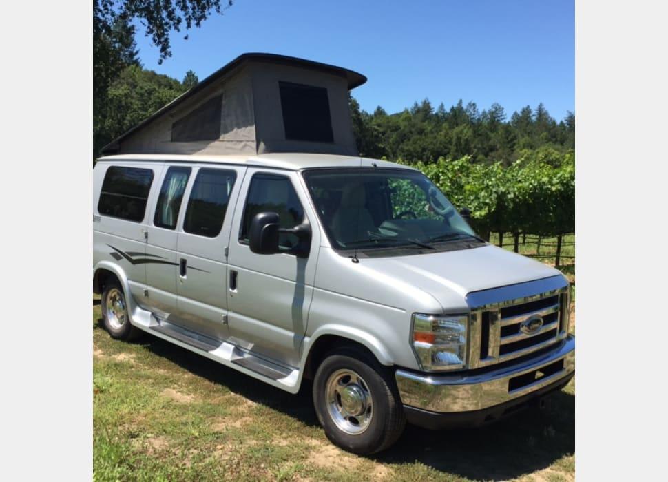 Ford Rv Van >> 2011 Pop Up Camper Van Ford Pleasure Way Traverse Rv Rental In